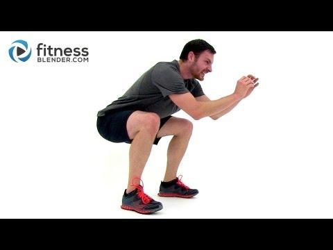 Brutal HIIT Ladder Workout – 20 Minute HIIT Workout at Home