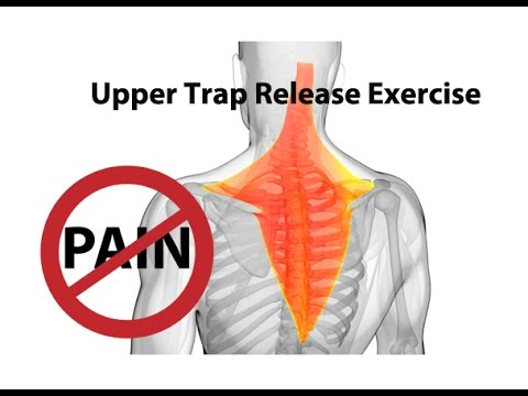 Upper Trap Release Exercise for Instant Neck Pain Relief – Dr Mandell