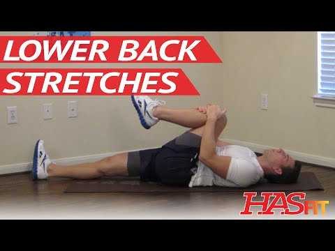 10 Min Lower Back Stretches – Low Back Stretch – Lower Back Pain Exercises – Ache – Stretching