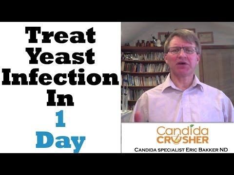 How To CURE Your Yeast Infection In ONE DAY