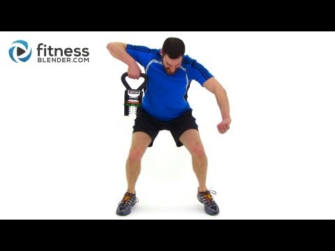 Full Length KettleBell Workout Video – Total Body Kettlebell Routine
