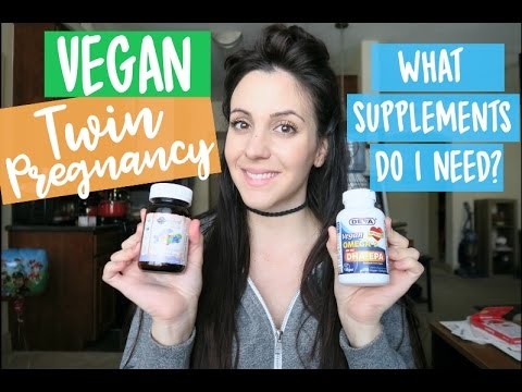 How I Supplement for My Vegan Twin Pregnancy