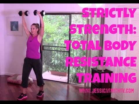 Free Online Workout Video: 20-Minute Total Body Strength Training Routine – Strictly Strength