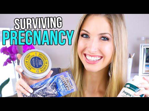SURVIVING PREGNANCY || My 10 Faves & Essentials!!