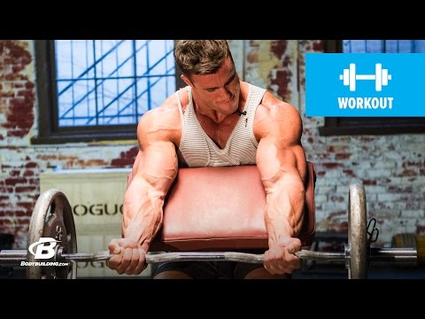 Calum Von Moger's Old School Bodybuilding Arms Workout   Armed and Ready