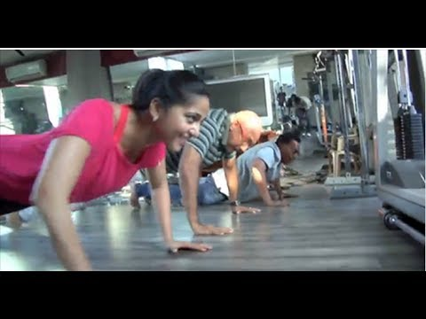 Prabhas & Team Workout video for Baahubali | Exclusive Video : TV5 News