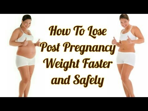 Losing weight after pregnancy| Healthy weight loss after birth | Post pregnancy weight loss