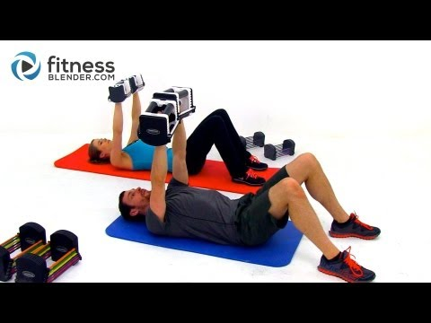 Upper Body Tabata Workout — Intense 60 Minute Back, Shoulders, and Arms Workout