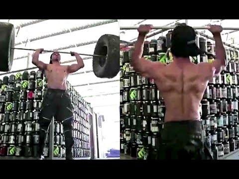 Vidyut Jamwal Workout Video