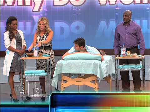 Cellulite Home-Remedies on 'The Doctors'