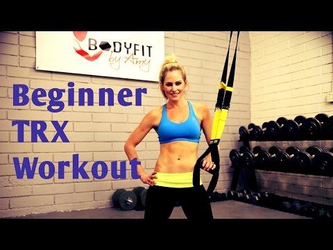 25 Minute TRX Beginner Instructional Workout
