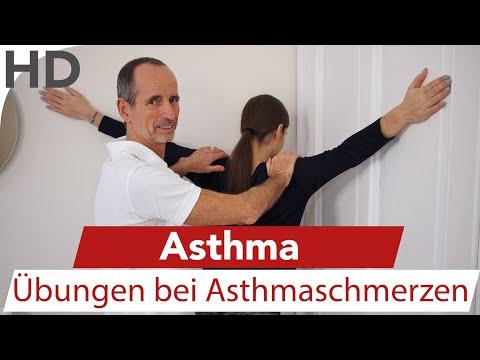 Asthma – Übungen Asthma Schmerzen, Husten / Faszien / Faszientraining