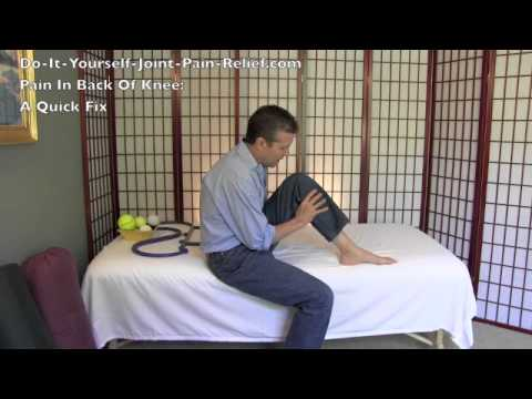 Pain In Back Of Knee – A Quick Fix