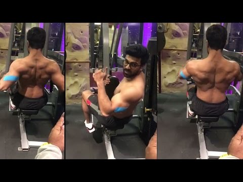 Ram Charan GYM Workout Video