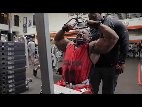Back and Shoulder – Workout video – Dexter Jackson