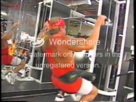 Ultimate Warrior Workout Video Part 1