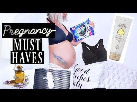 MY PREGNANCY MUST HAVES