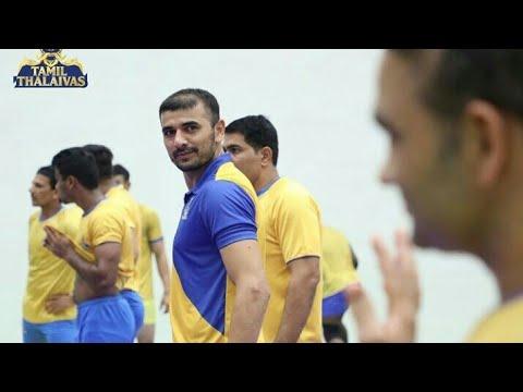 #ProKabaddi Tamil Thalaivas Full Team Workout Video – Practising Hard For PKL Season 6 – Ajay Thakur