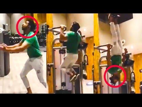 WOW: Arun Vijay's Awesome GYM Workout Video!!