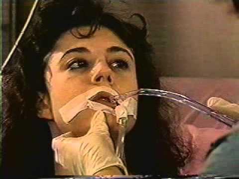 Intubated Woman (Asthma) – Hospital Care