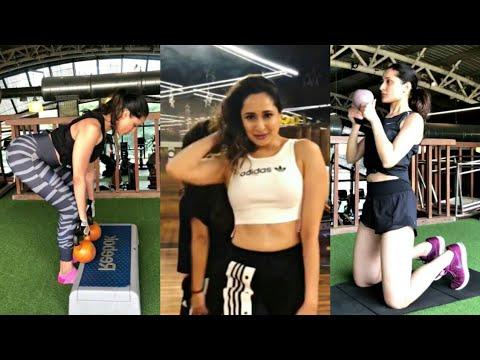 Pragya Jaiswal morning workout video    Pragya Jaiswal dance video