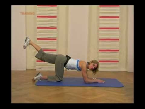 Anti-Cellulite Work Out, Das Po-Training