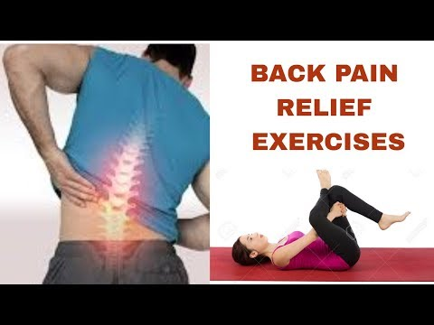 Back Pain Relief Exercises .