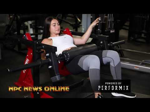 TEAM PERFORMIX PHYSIQUE:NPC WOMEN'S BIKINI COMPETITOR AMANDA GROSS  WORKOUT VIDEO