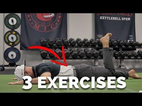 Three Exercises to Eliminate Back Pain!