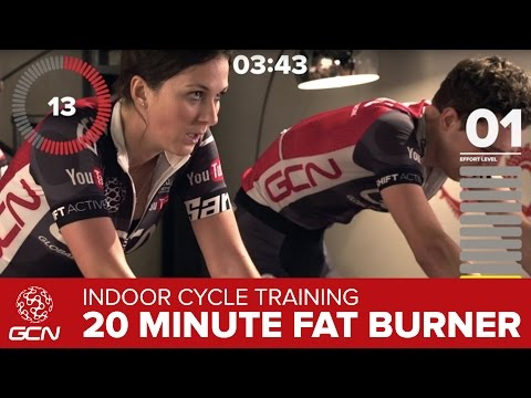 20 Minute Fat Burning Indoor Cycling Workout –Burn Fat Fast