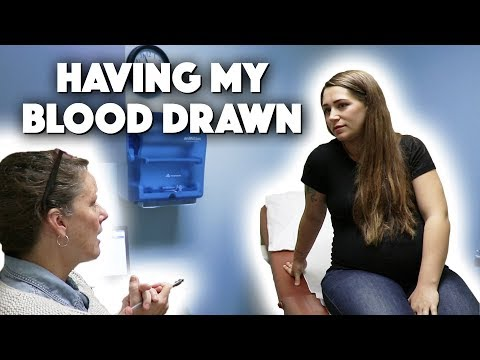 PREGNANCY ANEMIA BLOOD DRAW | 36 WEEK PREGNANCY UPDATE