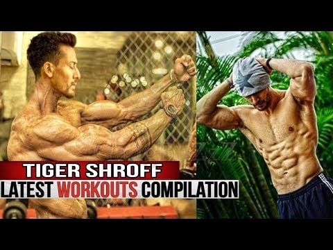 Tiger Shroff Workout – Tiger Shroff Latest Workout In Gym | Workout Video Compilation |