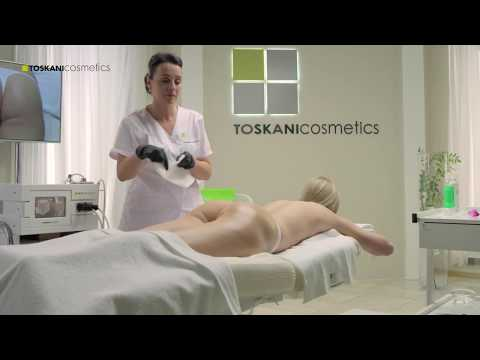 TOSKANI Mesotherapy – Anti-cellulite mesotherapy cabin treatment demonstration