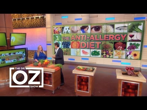 Dr. Oz's Anti-Allergy Diet