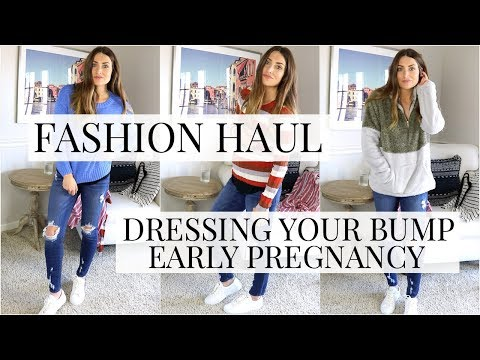 Fashion Haul: Dressing your Bump During Early Pregnancy | Kendra Atkins