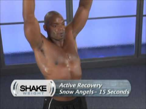 Mens Shake Weight Workout Video ( 6 Minutes)