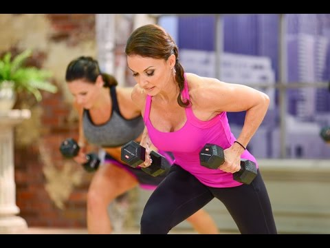 Cathe Friedrich's ICE Metabolic Total Body Workout Video