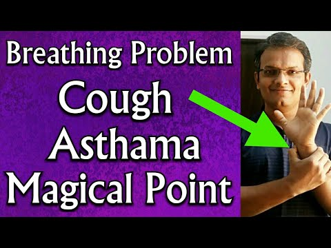 Acupressure Point For LUNG PROBLEMS || COUGH || ASTHMA || BREATHING Problems || In Hindi
