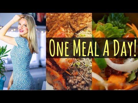 Das ist meine einzige feste Mahlzeit am Tag!  Meine Nahrungsmittel gegen Cellulite und Fettpolster