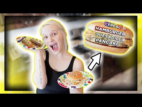 We Mixed All Of Her Pregnancy Cravings & Ate It!