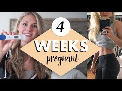 4 WEEKS PREGNANT – Early signs & Symptoms of Pregnancy and Telling my Husband