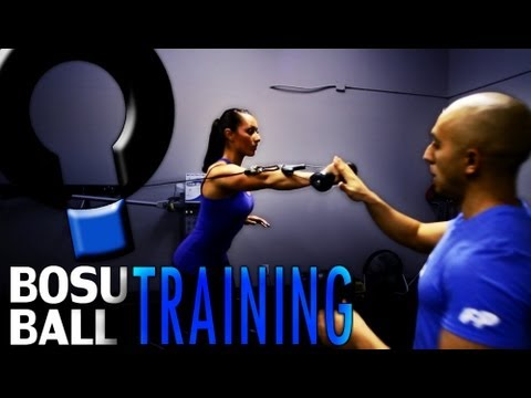 Instructional Workout Video- Bosu Ball Core Exercises