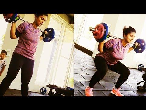 SNEHA MASS GYM WORKOUT VIDEO   Actress Sneha Gym Workout video going viral – Filmy Focus – Tamil