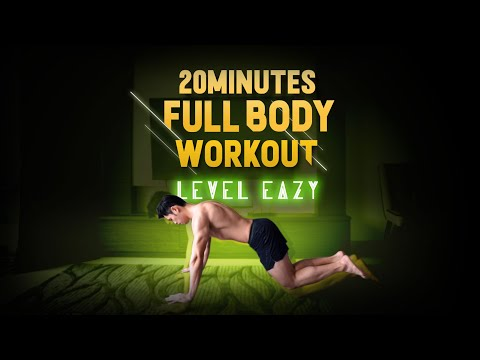 20 Minute Fat Burning Workout – Level: Easy