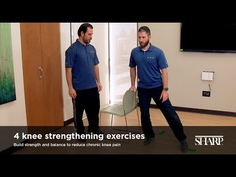 4 Knee Strengthening Exercises
