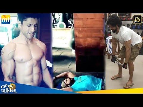 Farhan Akhtar Posts A 'Rocky' Workout Video For Fans I Toofan