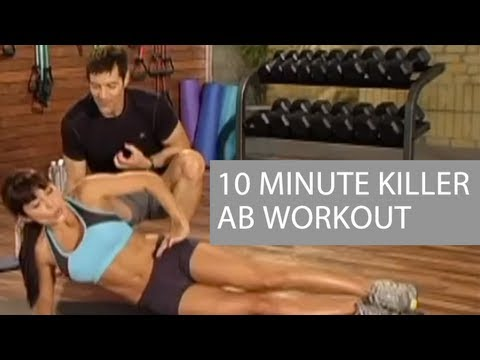 Killer 10 Minute Ab Workout that can be done at home!!!