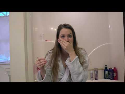 Finding Out I'm PREGNANT Reaction! || Emotional Live Pregnancy Test || Harley Loper