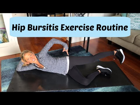 Hip Bursitis Exercise Routine. Best Exercises For Hip Bursitis.