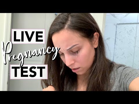 LIVE PREGNANCY TEST 2019 …. I had to take *TWO* tests